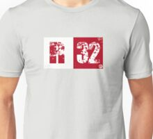 R32 (red) Unisex T-Shirt