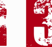 R32 (red) Sticker