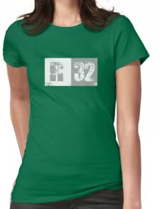 R32 (light grey) Womens Fitted T-Shirt