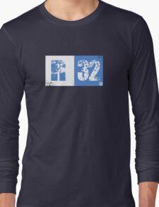 R32 (blue) Long Sleeve T-Shirt