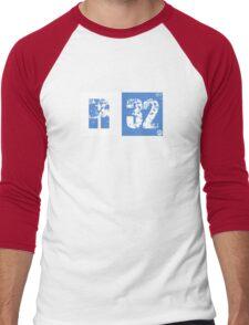 R32 (blue) Men's Baseball ¾ T-Shirt