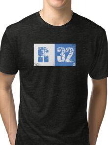 R32 (blue) Tri-blend T-Shirt