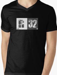 R32 (dark grey) Mens V-Neck T-Shirt