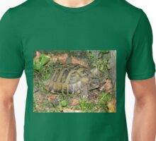A Conversation with an Eastern Hermann's Tortoise Unisex T-Shirt