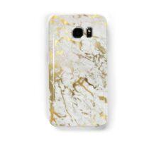 Gold marble Samsung Galaxy Case/Skin