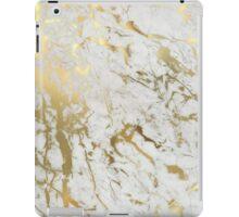 Gold marble iPad Case/Skin