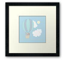 Rumbelle Balloon Flight Framed Print