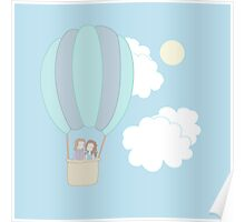 Rumbelle Balloon Flight Poster