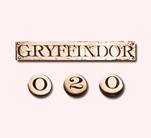 Gryffindor Quidditch Score minimal by redroseses