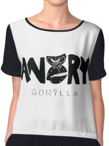 Angry Gorilla Chiffon Top