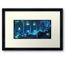 Fantasy City Framed Print