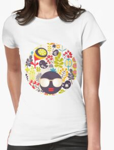 Beautiful nature. Womens Fitted T-Shirt