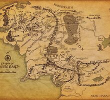 The Middle Earth by Leti Mallord