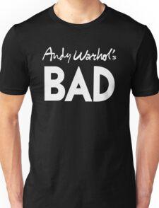 Bad (white) Unisex T-Shirt