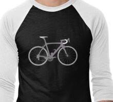 Bike Grey (Big) Men's Baseball ¾ T-Shirt