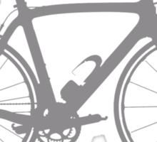 Bike Grey (Big) Sticker