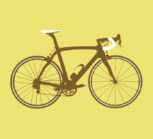 Bike Gold (Big) One Piece - Short Sleeve