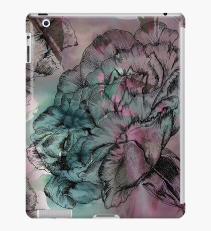 Peony Ink iPad Case/Skin