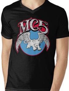 White Panther Mens V-Neck T-Shirt