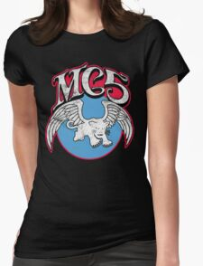 White Panther Womens Fitted T-Shirt