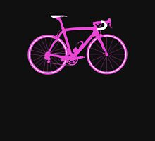 Bike Pink (Big) Womens Fitted T-Shirt