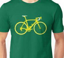 Bike Yellow (Big) Unisex T-Shirt