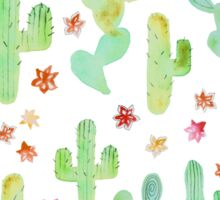 Watercolor Cacti Sticker