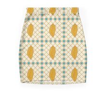 African abstract seamless pattern Mini Skirt