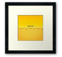 I Heart Bee Vomit! Framed Print