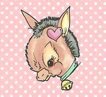 Kitsch Critter Denny the Donkey by gemsville
