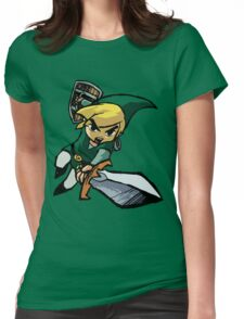 Toon Link - Changeable Color Womens Fitted T-Shirt