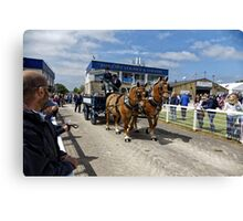 The Royal Bath & West Show, Shepton Mallet, Somerset, UK. Canvas Print