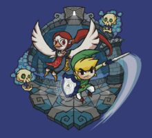 Zelda Wind Waker : Earth Temple by Purrdemonium