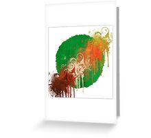 World decay Greeting Card