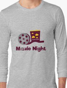 Retro movies night Long Sleeve T-Shirt