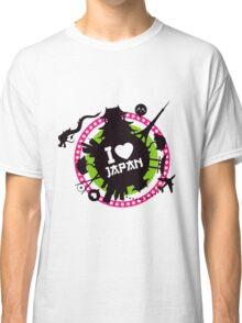 """I Love Japan""  Classic T-Shirt"