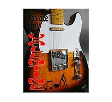 VALENTINE Fender Telecaster by Matterotica