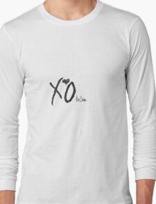 The Weeknd Logo Long Sleeve T-Shirt