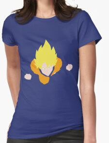 Goku Super Saiyan Womens Fitted T-Shirt