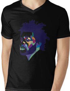 The Weeknd #HD Mens V-Neck T-Shirt