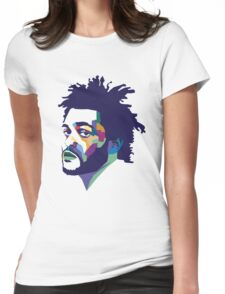 The Weeknd #HD Womens Fitted T-Shirt