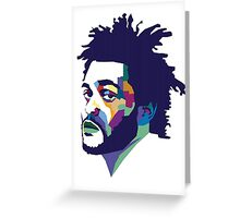 The Weeknd #HD Greeting Card