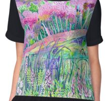 Spring is Sprung Chiffon Top
