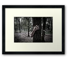 Horror fantasy Framed Print