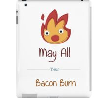 May All Your Bacon Burn iPad Case/Skin