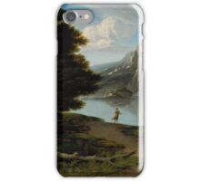 Washington Allston - Landscape with Lake  iPhone Case/Skin