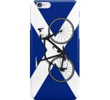 Bike Flag Scotland (Big - Highlight) iPhone Case/Skin