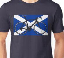Bike Flag Scotland (Big - Highlight) Unisex T-Shirt