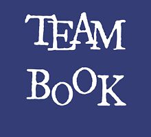 Team Book - White Letter Unisex T-Shirt