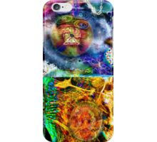 Where Are You Are Here - The Answer To The Universe. Visual Guide for Humans No.33 DMT ART iPhone Case/Skin